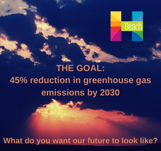the goal is 45% reduction in greenhouse gas emissions by 2030