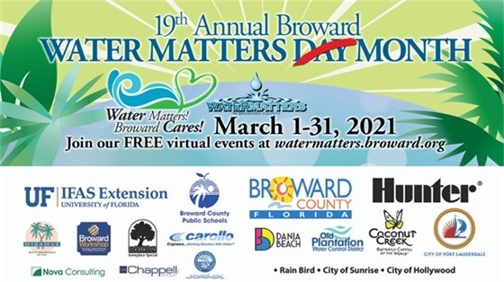 water matters day banner march 1 to 31