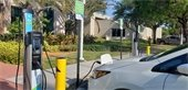 Electric vehicle charging stations at City Hall