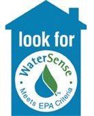 house shape with water sense logo from EPA
