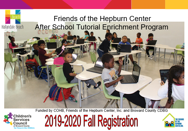 Fall Registration Front