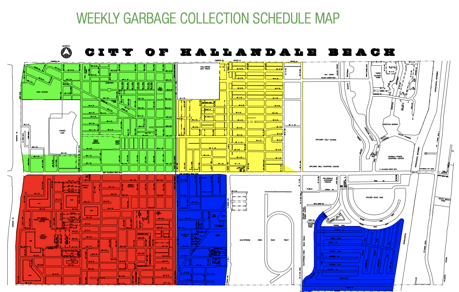 COLLECTION MAP