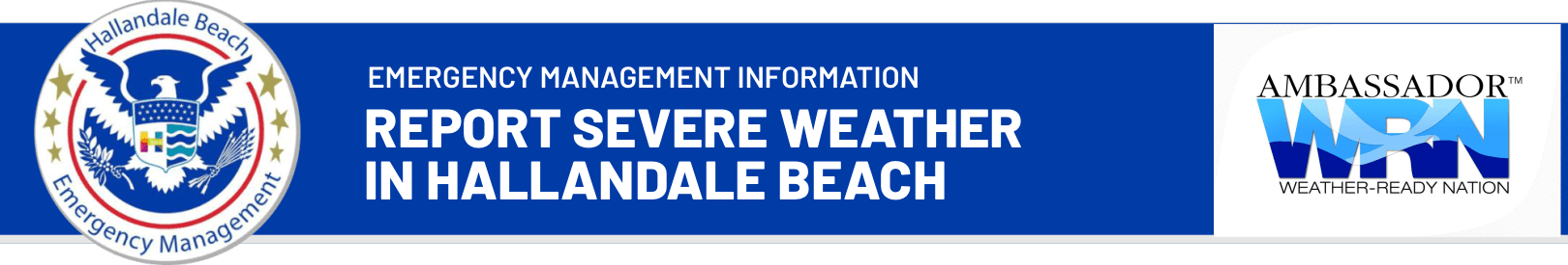 Report Severe Weather in Hallandale Beach