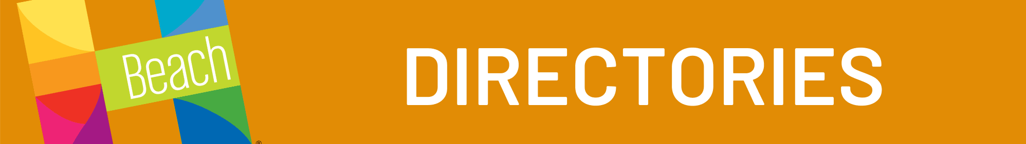 Directories Web Header