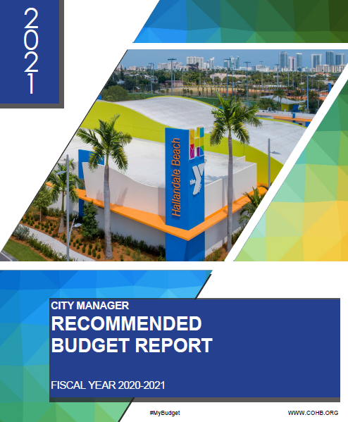 City Manager's Recommended Budget Report Fiscal Year 2020 -21